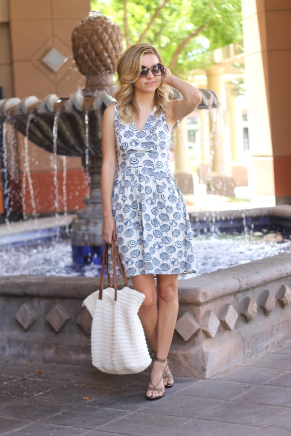 umbrella, dress, umbrella dress, maison jules. summer style, simply sutter