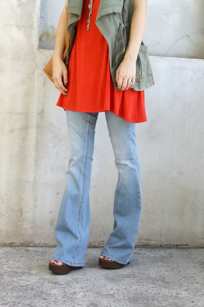 Flare Jeans, Boho, simply sutter