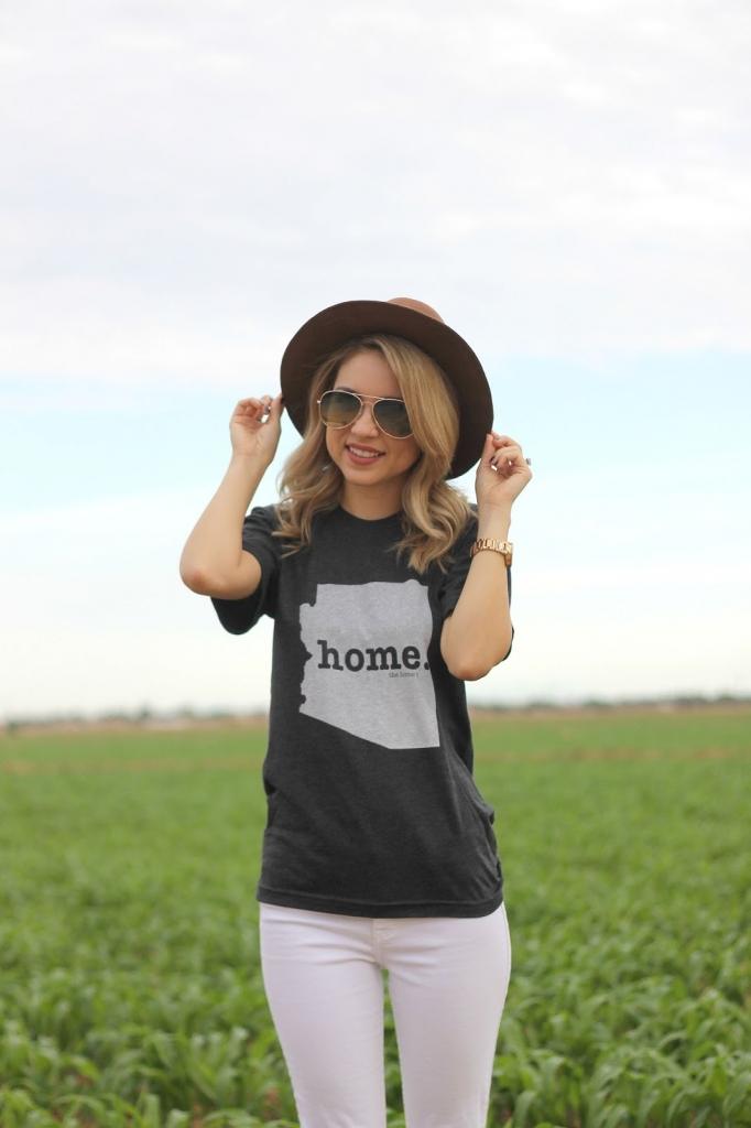 The Home T , shirt, Arizona