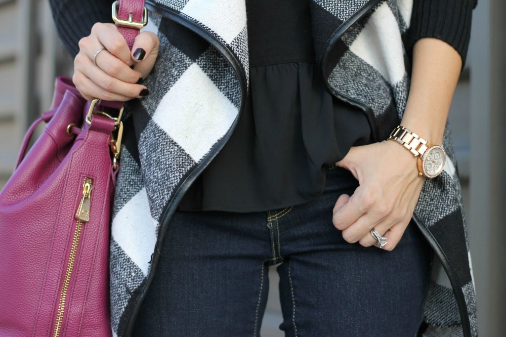 Plaid, plaid coat, shein, loft