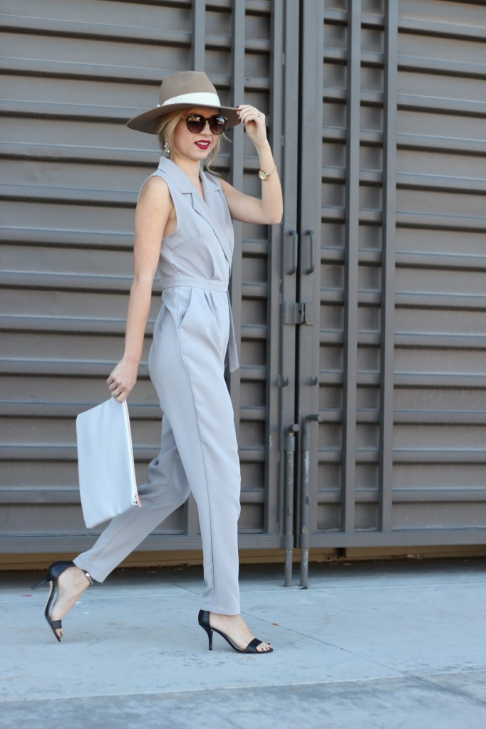 grey jumpsuit , jumpsuit, missguided, petite, simply sutter