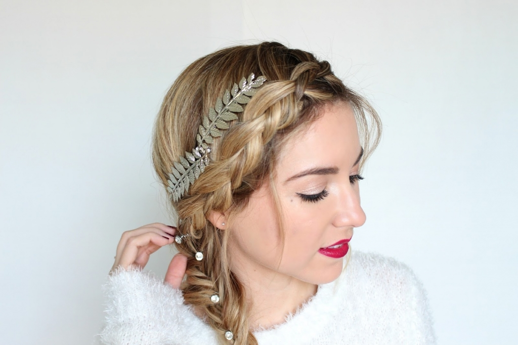 ultra beauty, snow kissed look, braid, style watch, simply sutter