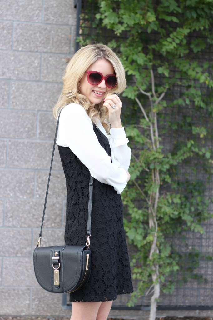 crochet, layer dress, simply sutter
