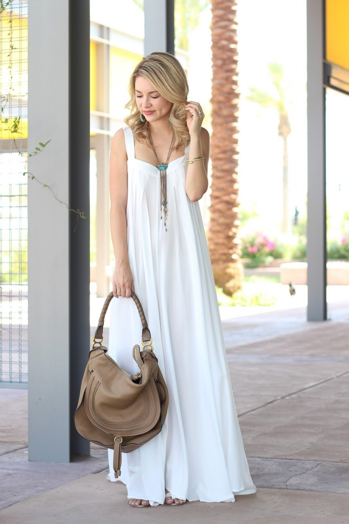 chloe marcie hobo bag, white jumpsuit