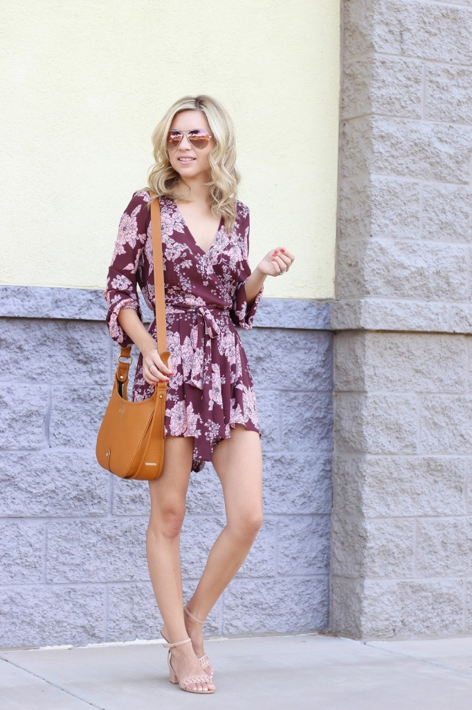fashion blogger - fall fashion - romper