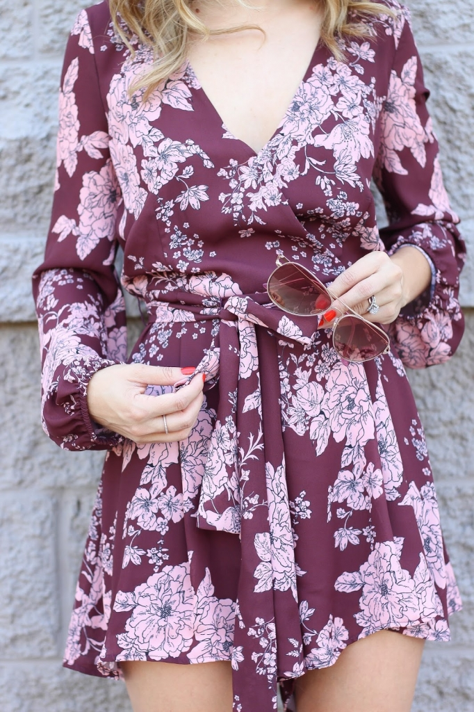 style blogger - fashion - fall - romper