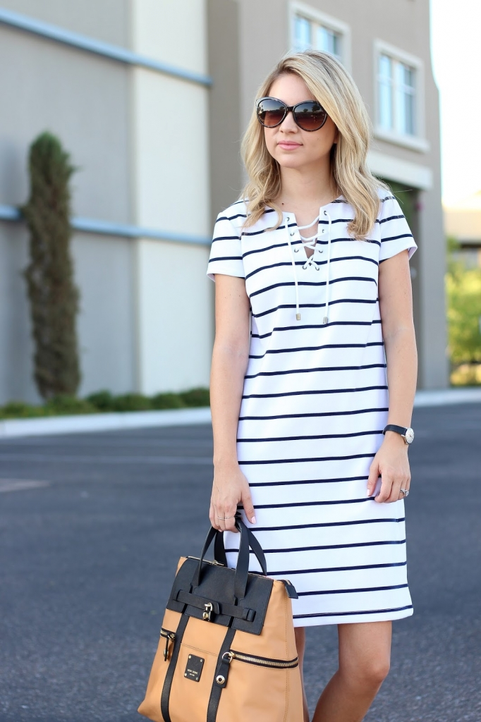 striped dress from macy's
