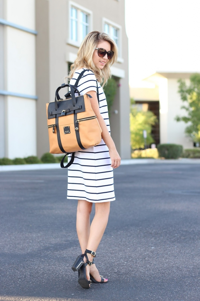 backpack street style, fashion blogger, jetsetter