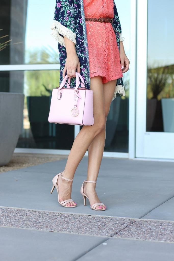 summer romper, blogger style