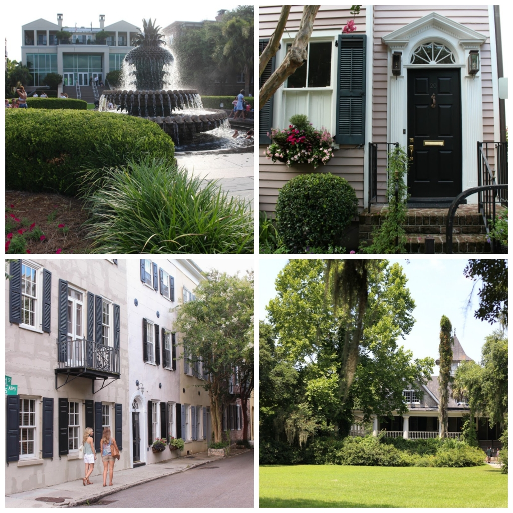 king street - magnolia plantation - boone hall plantation - waterfront park - SC