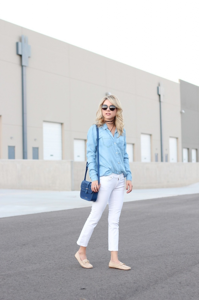 casual outfit - denim - style - fashion