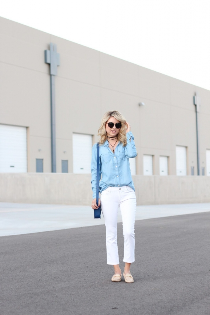 everyday look - style - simply sutter - choker - loafer