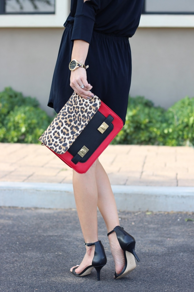 street style - accessories - leopard