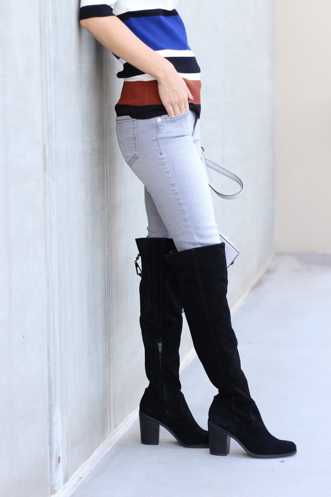 over the knee boots - steve madden - nordstrom - boots and jeans