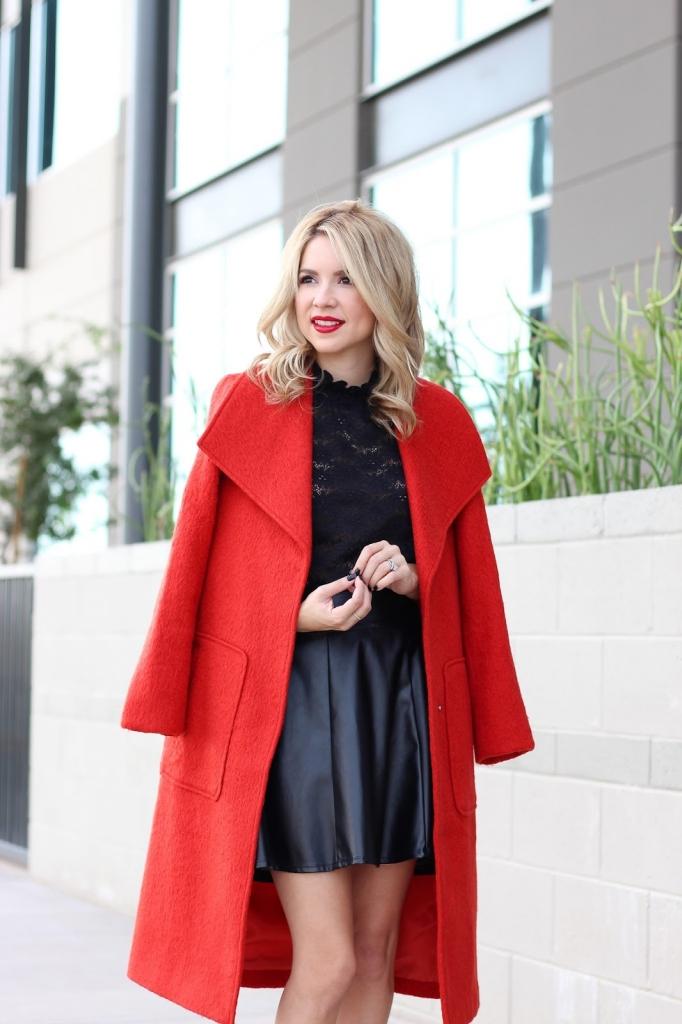 long coat - Bernardo fashion - Nordstrom
