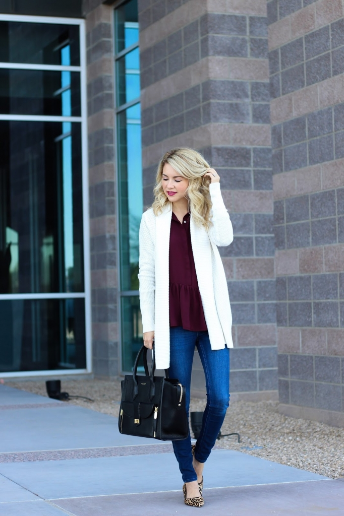 look book - street style - loft cardigan - henri bendel bag - simply sutter - style - fall look