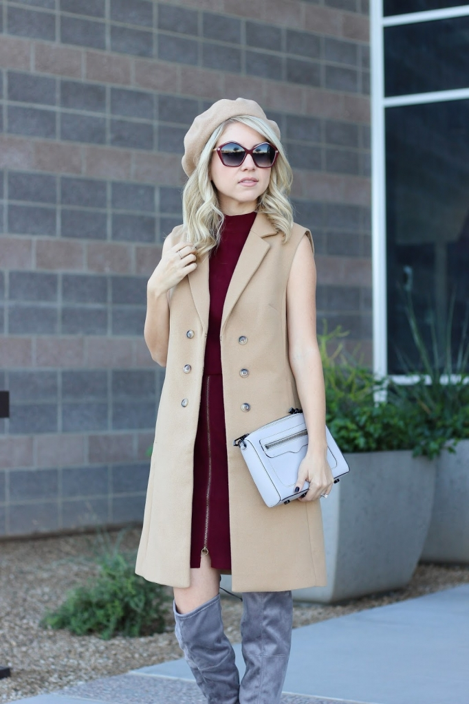 french girl outfit - parisian style - It Girl - fashion - french style - beret - how to wear the french girl look