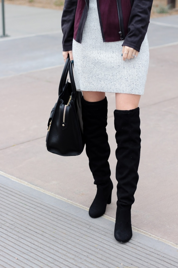 chines laundry boots - black boots - how to pull of cozy and chic