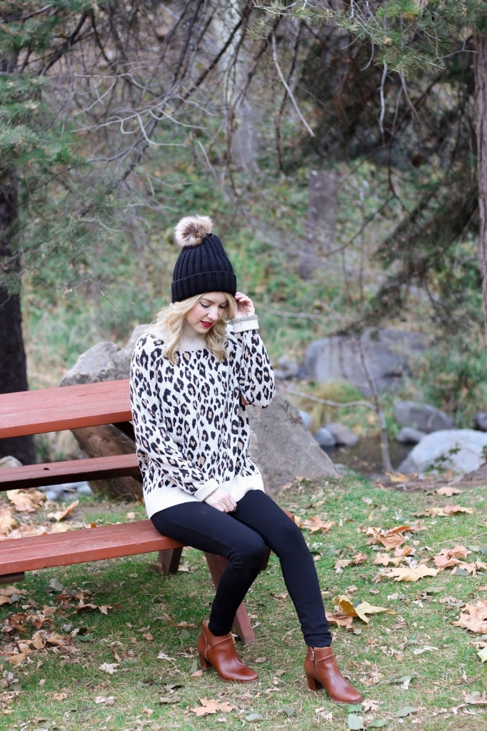 loft leopard sweater - sweater - sweater and leggings - simply sutter - style