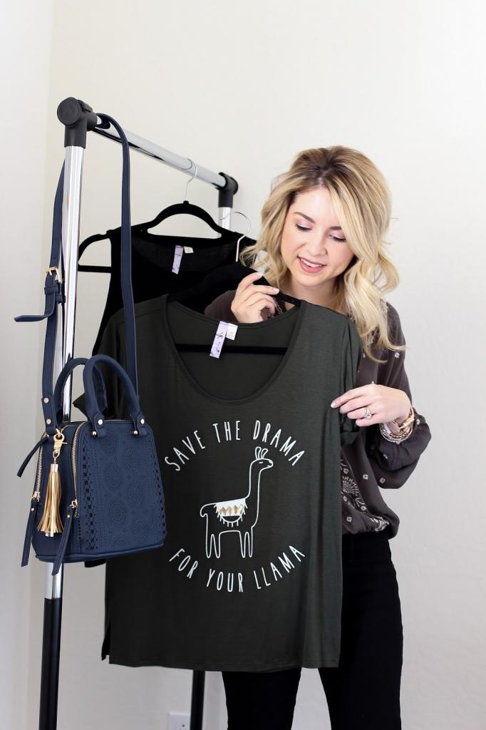 francescas lama shirt - new year - wardrobe