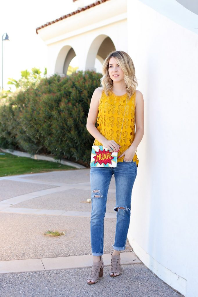 simply sutter - monic sutter - spring style - clutch