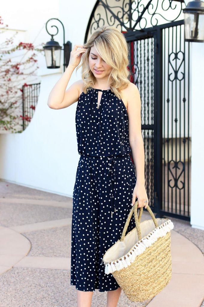summer outfit - jumpsuit - simply sutter - blogger