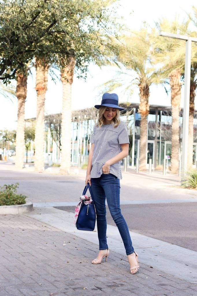 casual outfit - wear - outfit - casual - henri bendel - hat outfit