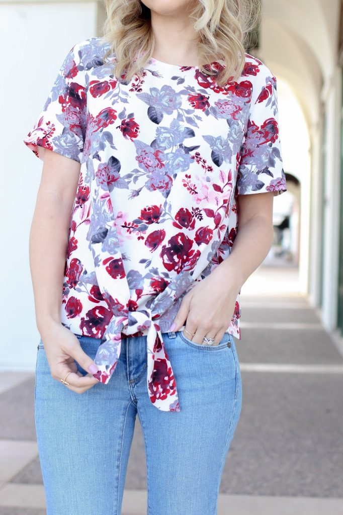 spring - personal style - floral top - style