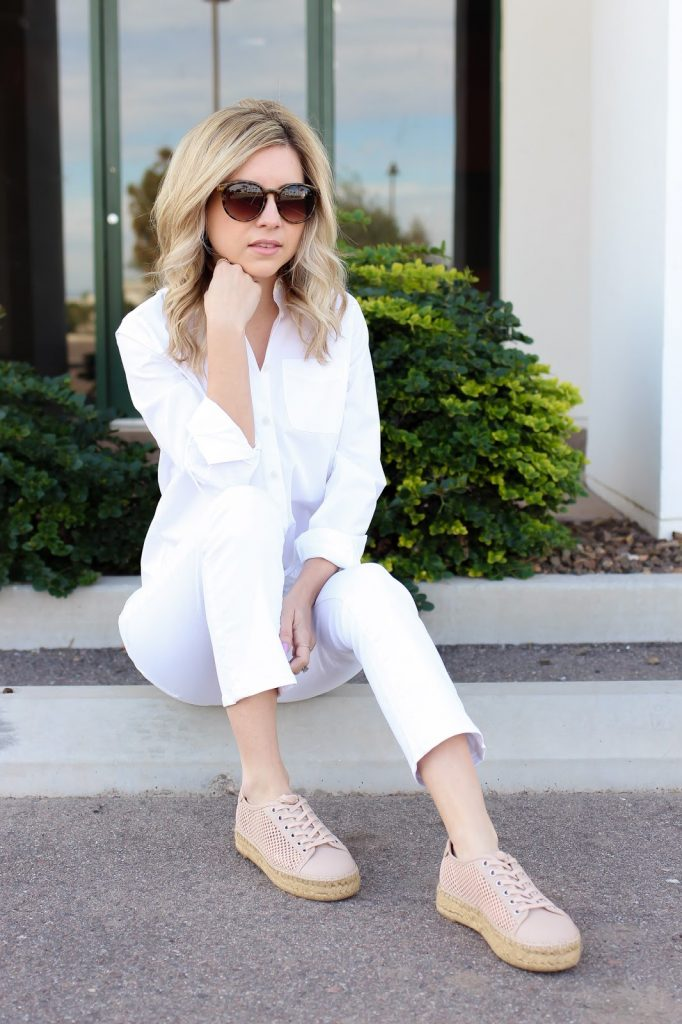 simply sutter style - personal style - spring outfit - espadrille sneakers