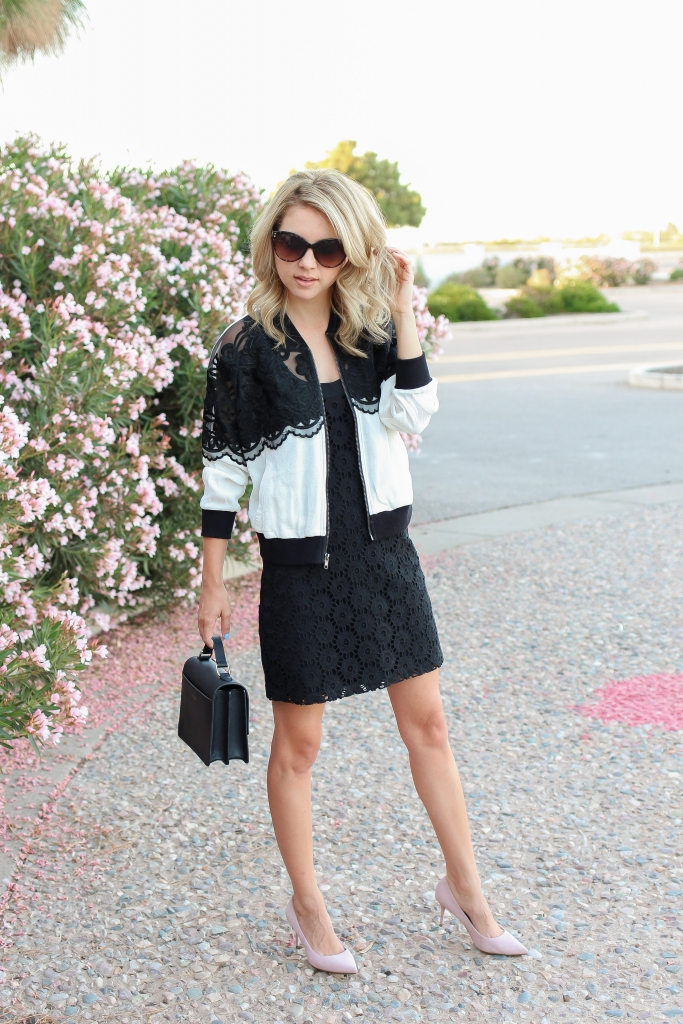 simply sutter - spring style - spring bomber jacket