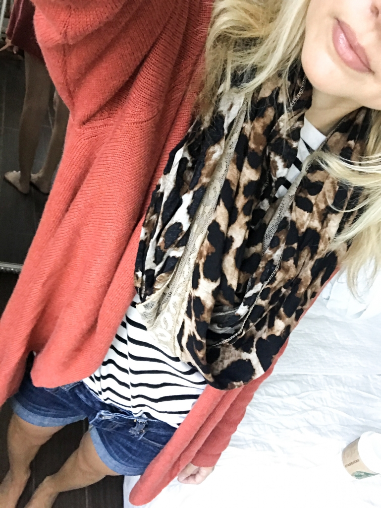 Cardigan - stripes - fall style - nordstrom