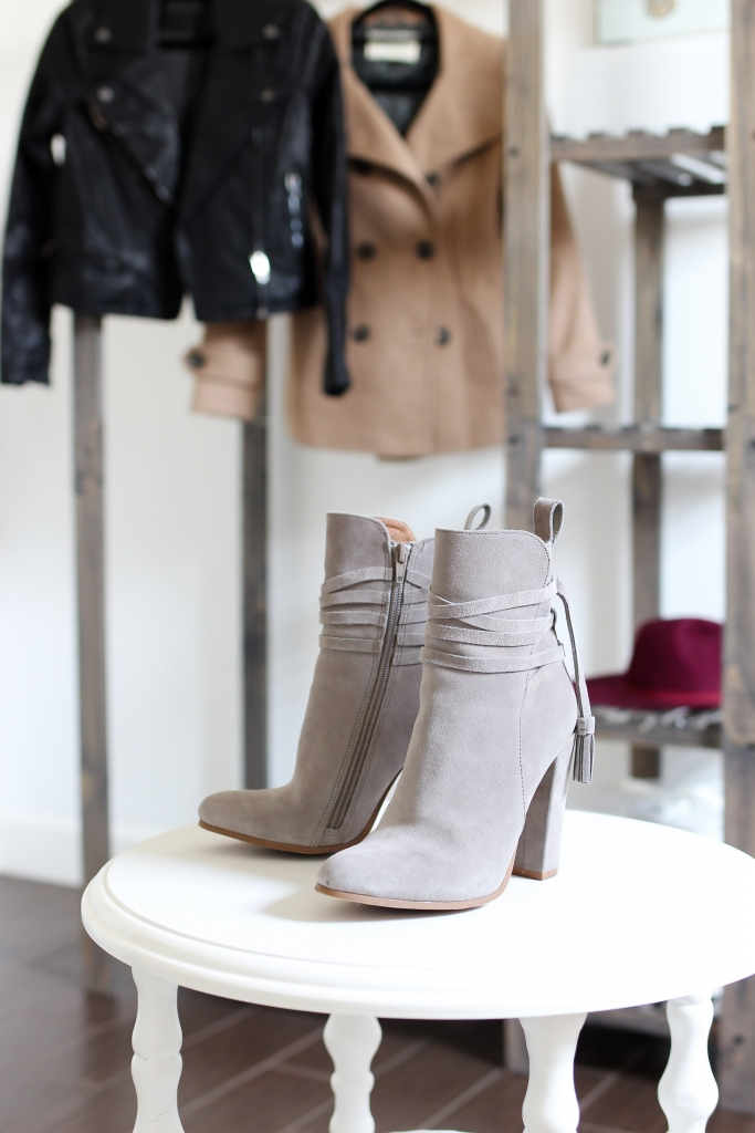 ankle boots - steve madden - grey boots - nordstrom