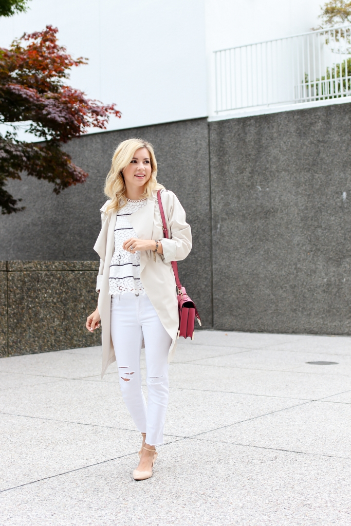 Simply Sutter - trench coat - seattle style - bernardo fashion