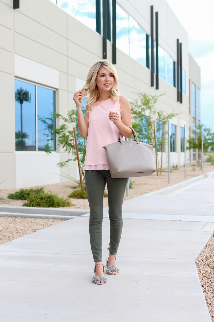 How to wear pink - pink outfits - LOFT