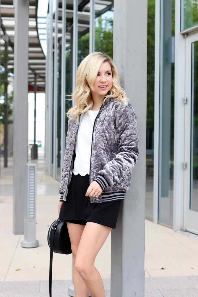 Bomber jacka outfit