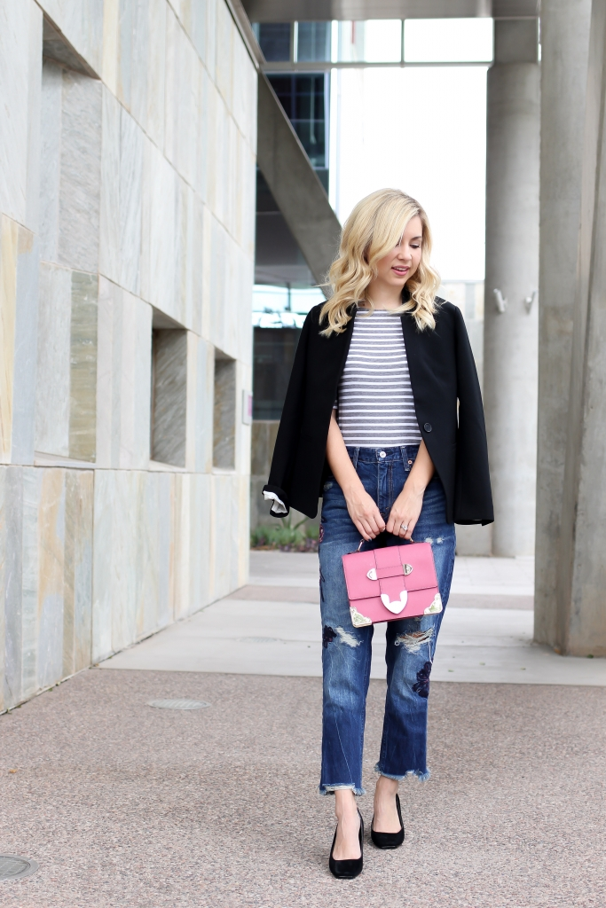 Simply Sutter - Blazer - Girlfriend jeans