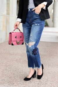 Simply Sutter - Blazer Outfit - Pink bag