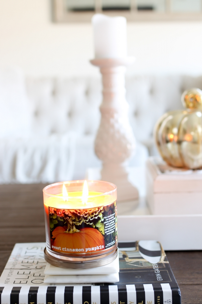 Simply Sutter - Fall Candle - Pumpkin candle - home