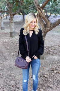 Simply Sutter - Ruffle Blouse - Fall Style - Fall Fashion