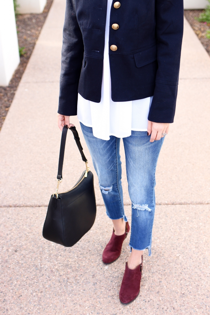 Simply Sutter - ankle boots - twill jacket