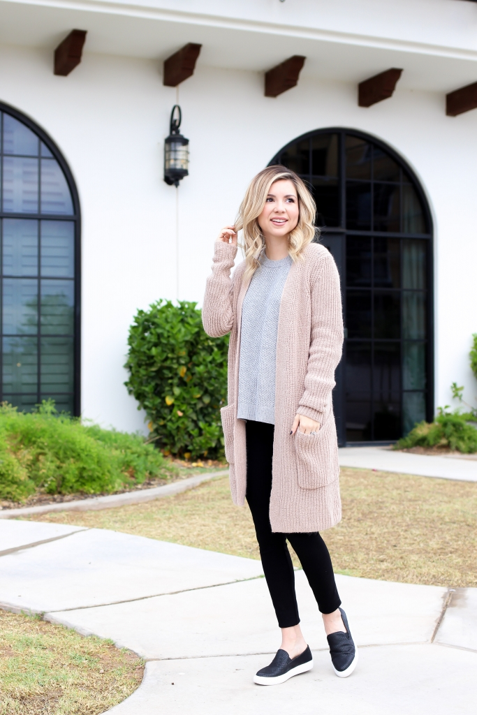 Simply Sutter - sweater and leggings - LOFT