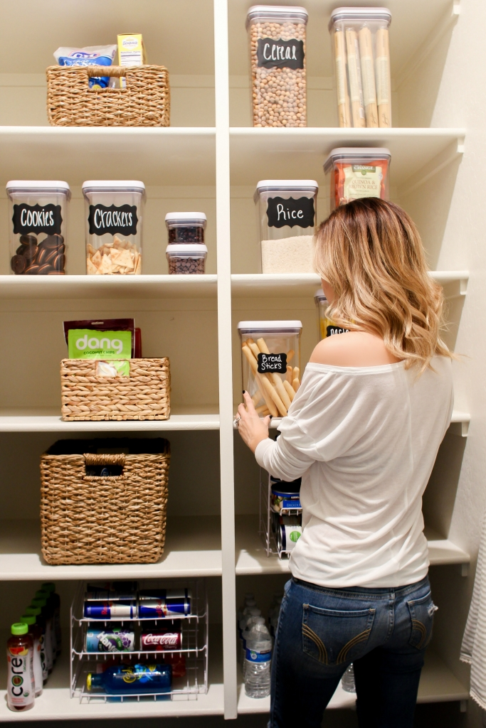 Simply Sutter - Pantry - Organize Pantry