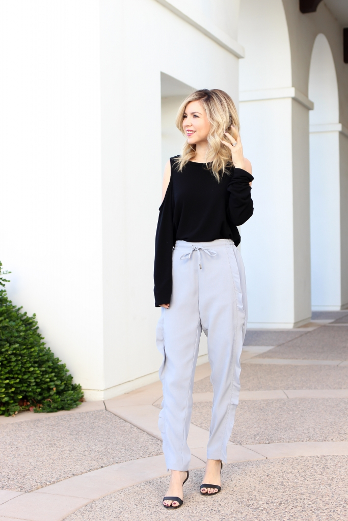 Simply Sutter - Fall Outfit - Ruffle Pants