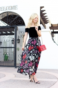 Simply Sutter - Velvet Maxi - holiday style