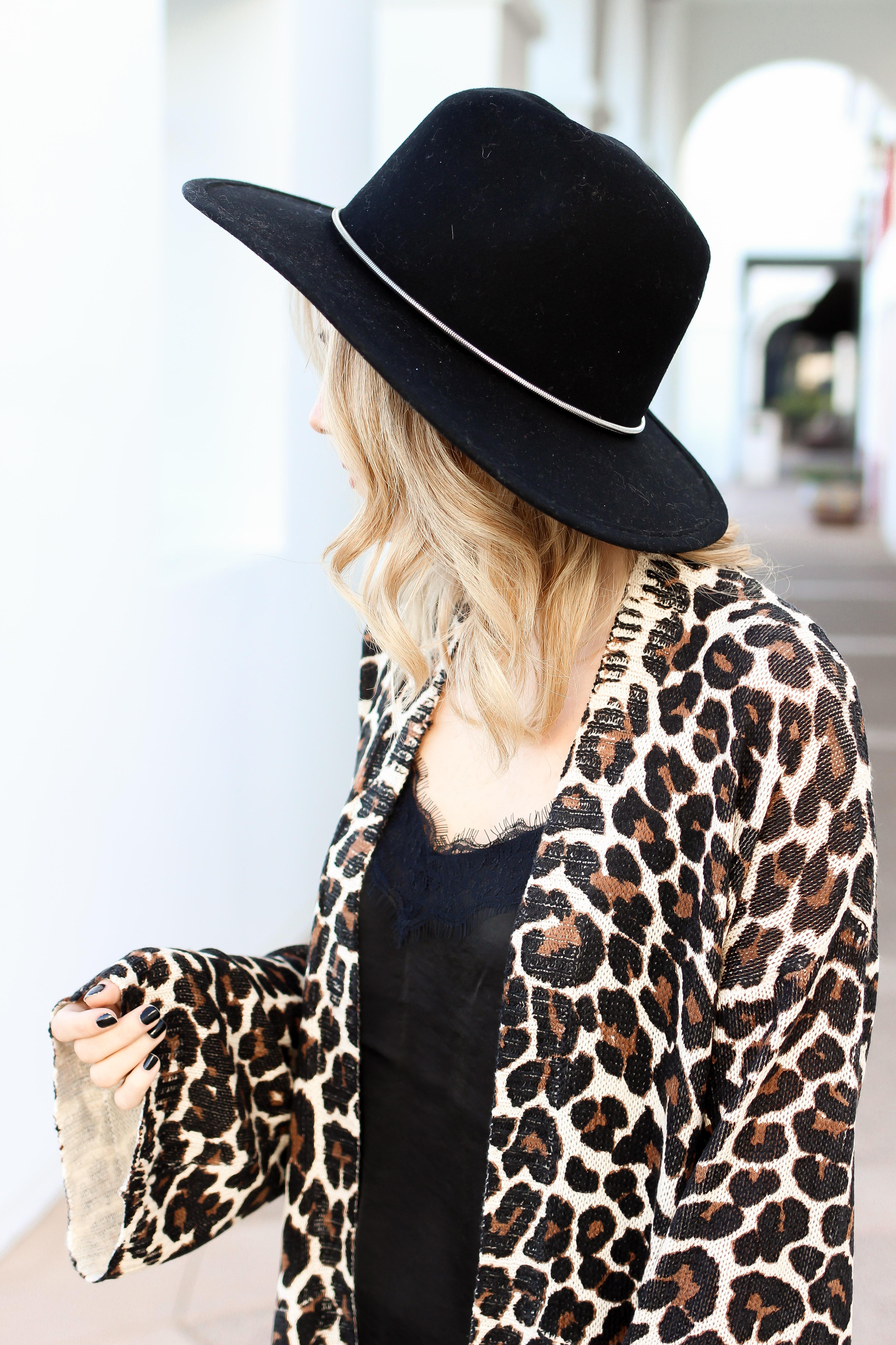 Simply Sutter - Leopard Cardigan