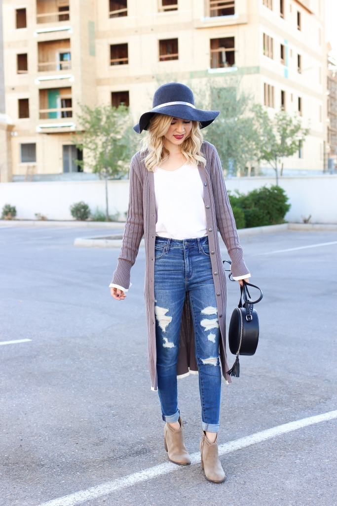 Simply Sutter - Fall Outfit - cardigan outfit - long cardigan