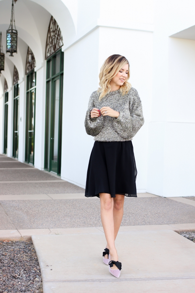 Simply Sutter - NYE outfit - Nordstrom
