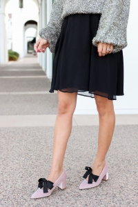 Simply Sutter - Nordstrom - Bow Heels - Jcrew - Holiday Outfit