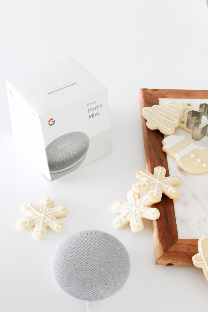 Simply Sutter - Walmart - Google Home mini - Sugar cookies