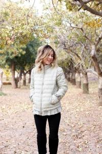 Simply Sutter - Puffer coat - ruffle coat - winter style